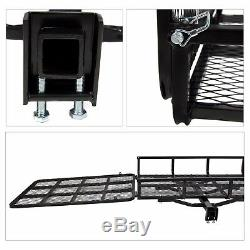 Wheelchair Carrier Ramp Mobility Scooter Rack Power Lift Electric Hitch Steel
