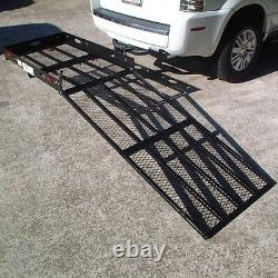 XL LOADING RAMP WHEELCHAIR CARRIERmobility scooter electric trailer hitch SC500