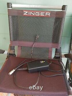 Zinger ZR-10.1 Electric Wheelchair Used, Fantastic Condition