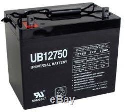 12v 75ah Groupe Upg 24 Batterie Pour Fauteuil Roulant Scooter Voiturette Électrique DC