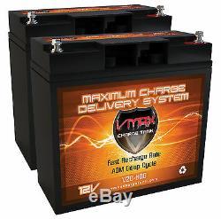 2 Vmax600 Demi-u1 12v 20ah Agm Vrla Batteries Pour Scooter Électrique Ou Un Fauteuil Roulant