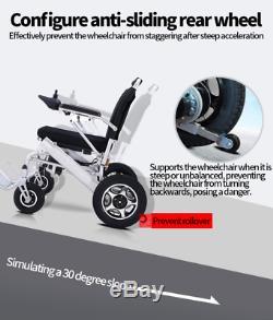 2020 Ez Rider Pro Légère Fodable Mobilité Électrique En Fauteuil Roulant