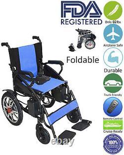 2020 Modèle Fold & Travel Léger Electric Power Scooter Fauteuil Roulant