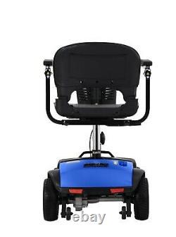 2021 Modèle Fold & Travel Electric Power Wheelchair, Léger 4 Roues Pliage