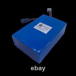 24v 24ah Lifepo4 Batterie Ebike Lithium 5a Chargeur Scooters Électriques Fauteuils Roulants