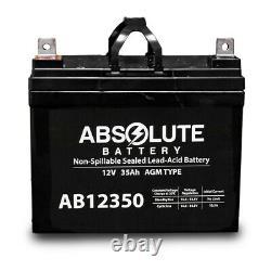 2pk Nouveau 12v 35ah 12 Volt 35 Amp Hour Batterie Électrique Fauteuil Roulant Scooter U1