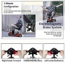 3 Roues Mobility Scooter Électrique Motorisé Voyage Device En Fauteuil Roulant, Les Personnes Âgées