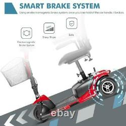 3-wheel Mobility Scooter Electric Powered Mobile Wheelchair Device Pour Adultes