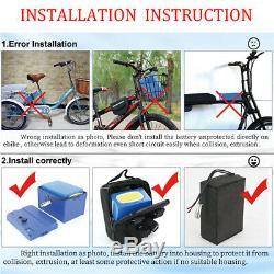 36v 15ah Batterie Au Lithium Fauteuil Roulant Électrique Scooter Vélo Électrique Pour 550w Moteur