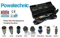 36v 42v 5a Batterie Au Lithium Chargeur Vélos Scooters Électriques Fauteuils Roulants Golf
