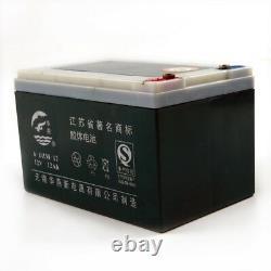 4 Packs 12v 12ah 6-dzm-12 Batterie Scooter Électrique Fauteuil Roulant Vtt Quad Go Karts