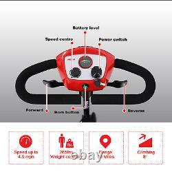 4 Roues De Mobilité Scooter Alimenté En Fauteuil Roulant Appareil Électrique Compact Pliable