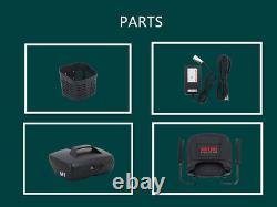4 Roues Mobilité Scooter Électrique Appareil Roulant Compact Pour Les Voyages