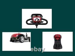 4 Roues Motorisé Électrique Scooter De Mobilité En Fauteuil Roulant Compact Dispositif De Pliage