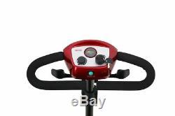 4 Roues Scooter Électrique Powered Dispositif Fauteuil Roulant Voyage Compact