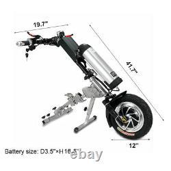 48v / 10ah 350w Connectable Électrique Scooter Fauteuil Roulant Vélo À Main Moteur D'entraînement