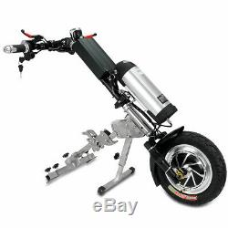 48v / 10ah 350w Connectable Électrique Scooter Handbike Vélo À Main En Fauteuil Roulant Nouveau