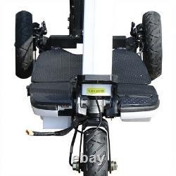 48v Électrique 3 Roues Scooter Mobilité 3speed e-scooter Pliant Mobile En Fauteuil Roulant