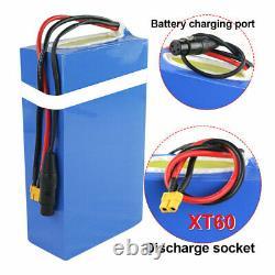 72v 3000w 25ah E-scooter Batterie Lithium Pour Vélo Électrique Fauteuil Roulant 3a Chargeur
