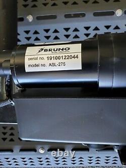 Bruno Asl-275 Étagère Extérieure Plate-forme Fauteuil Roulant Et Scooter Lift