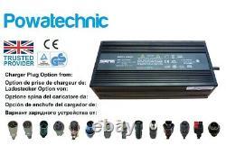 Chargeur De Batterie Au Lithium 48v 54.6v 5a Pour Chariots De Golf E-bikes En Fauteuil Roulant