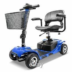 Compact D'appareil En Fauteuil Roulant À Scooter À Mobilité Électrique À 4 Roues Compact Pour Les Déplacements