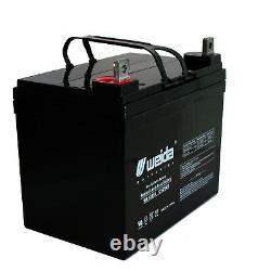 Compatible Batterie Pour Fauteuil Roulant Électrique Mobility Rascal Scooter 2 Pièces