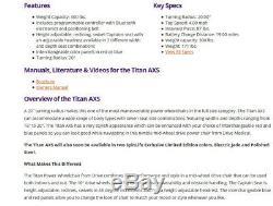 Drive Medical Titan Axs Mid-wheel Fauteuil Roulant Électrique Titanaxs