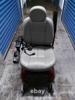 Electric Scooter Wheel Chair Jet 3 Ultra Power Chair Batterie Rouge/gris Actionnée
