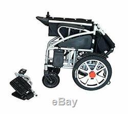 Électrique Motorisé Fauteuil Roulant Électrique Pliable Léger Heavy Duty Powerchair