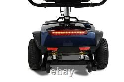Fauteuil Pliant À 4 Roues Electric Power Mobility Scooter Transport Travel Wheel Chair