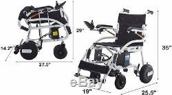 Fauteuil Roulant Électrique Léger Pour Adultes Scooter Électrique De Mobilité Chaise Roue