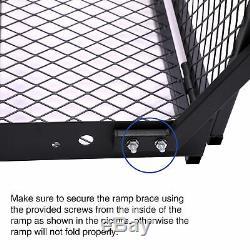 Fauteuil Roulant Électrique Pliable Porte-mobilité Scooter Medical Disability Rampe