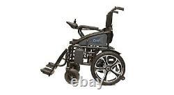 Fauteuil Roulant Électrique Pliant Portable Heavy Duty Léger Mobility Power Chair