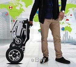 Fauteuil Roulant Électrique Pliant Portable Robuste Légère Mobilité Électrique Chaise