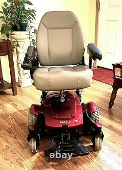 Fauteuil Roulant Motorisé Jazzy Select 6 Mint Low Hours Looks -runs Great 20 Seat