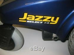 Fierté Jazzy Select 14 Mobilité Électrique Chaise Limite Fauteuil Roulant 300lb