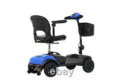 Fold Travel Electric 4 Roues Mobility Scooter Power Wheel Chaise Lightweight USA