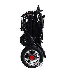 Fold & Voyage Motorisé Électrique Fauteuil Roulant Électrique Scooter Seulement 50lb Tient 360lb