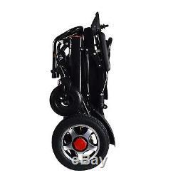 Fold & Voyage Motorisé Électrique Fauteuil Roulant Électrique Scooter Seulement 55lb Tient 360lb