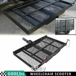 Folding Désactiver Hitch Fauteuil Roulant Électrique Porte-scooter Loading Rampe