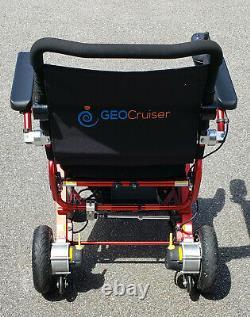 Geo Cruiser Elite Ex Fauteuil Roulant Électrique Pliable Léger