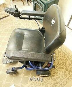 Golden Literider Ptc Gp-162 Motorized Transport Scooter Power Chair Avec Rampe