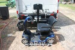 Harmar Al500 Scooter Électrique Lift Fauteuil Roulant Avec Sangles Repliage Et Gris