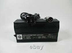 Hpc0180wb Chargeur De Batterie Au Plomb-acide 24v 5a6a Pour Scooter Électrique Fauteuil Roulant