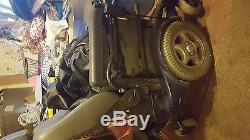 Invacare Pronto M91 Fauteuil Roulant Électrique Médicale Mobilité Électrique Scooter Rouge
