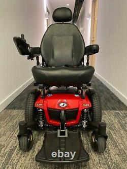 Jazzy 600 Es Power Wheelchair Par Pride Mobility Utilisé Moins De 2 Mois