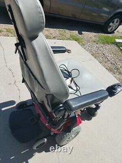 Jazzy Select Gt Electric Power Scooter Fauteuil Roulant Nouvelles Batteries Testées De Travail