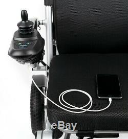Léger Et Pliable Accoudoir Siège Hauteur Ajusté En Fauteuil Roulant Portable Power