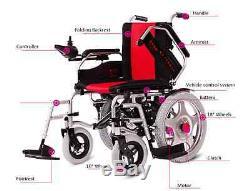 Livraison Rapide Électrique Pliable Fauteuil Roulant Scooter Véhicule Médical